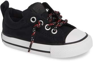 Converse R) Graphite & Glitter Low Top Sneaker