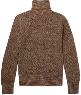 Oliver Spencer Talbot Mélange Wool Rollneck Sweater