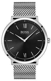 HUGO BOSS Essential Ultra Slim Logo Stainless Steel Bracelet Watch
