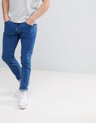Wrangler Bryson Skinny Jeans Made Of Stone