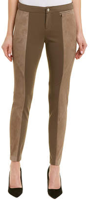 Lafayette 148 New York Monroe Suede-Paneled Pant