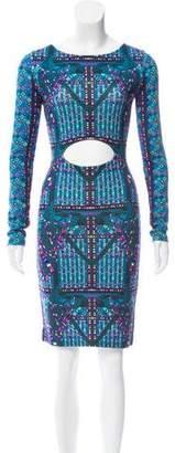 Mara Hoffman Printed Cutout Dress
