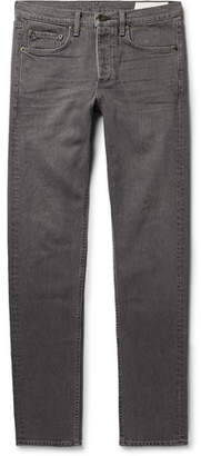 Rag & Bone Fit 2 Slim-Fit Denim Jeans - Anthracite