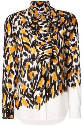 Moschino leopard print blouse