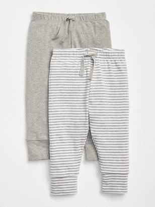 Gap First Favorite Stripe Knit Pants (2-Pack)