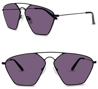 SMOKE X MIRRORS Geo III 56mm Sunglasses