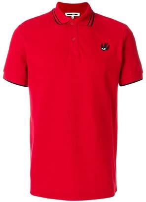 McQ piquet logo polo shirt