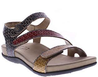 Spring Step L'Artiste by Leather Sport Sandals- Novato