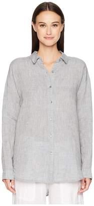 Eileen Fisher Classic Collar Shirt Women's Clothing
