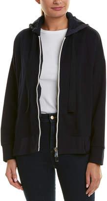 Moncler Hooded Sweatshirt Jacket