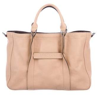 Longchamp 3D Leather Tote