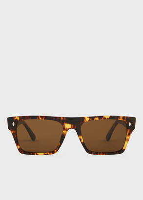 Paul Smith Cutler And Gross + Honey Comb Turtle Sunglasses - Limited Edition