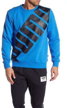 Puma Big Logo Fleece Lined Pullover