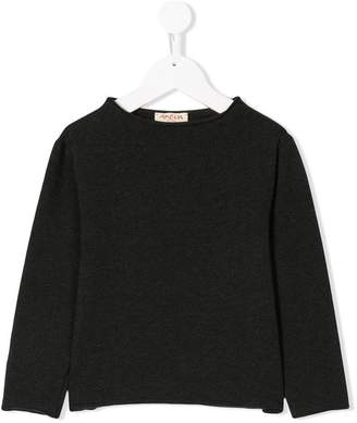 Amelia Milano round neck knit top