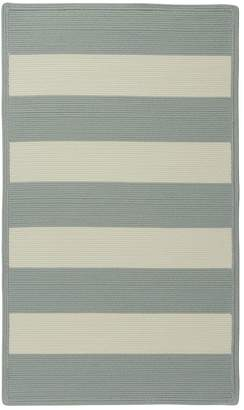 Pottery Barn Capel®; Fitzgerald Stripe Rug - Porcelain Blue