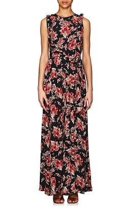 By Ti Mo byTiMo Women's Rose Tapestry-Print Crepe Jumpsuit