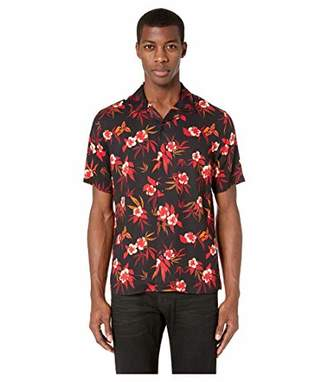 The Kooples Men's Men's Lost Paradise Print Button-Down Shirt with Classic Collar