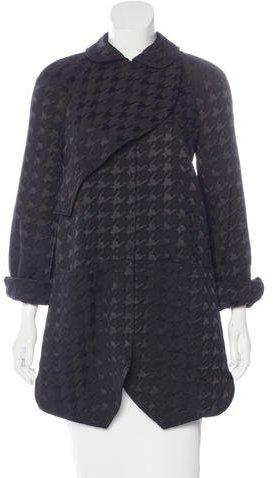 Balenciaga Balenciaga Short Patterned Coat w/ Tags