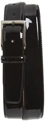Men's Magnanni Patent Leather Belt $125 thestylecure.com