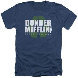 Office The Comedy Sitcom TV Series NBC Recycle Mifflin Adult Heather T-Shirt Tee