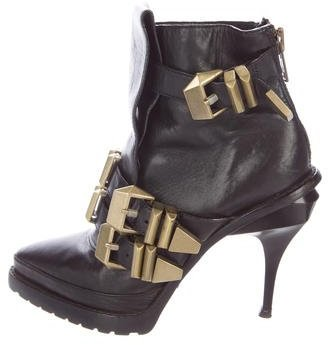 Alexander Wang Alexander Wang Buckle-Accented Ankle Boots