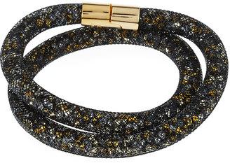 Swarovski Stardust Convertible Crystal Mesh Bracelet/Choker, Black, Medium $60 thestylecure.com