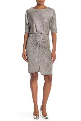 Rabbit Rabbit Rabbit 1\u002F2 Sleeves Blouson Dress