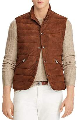 Polo Ralph Lauren Walbrook Leather Vest