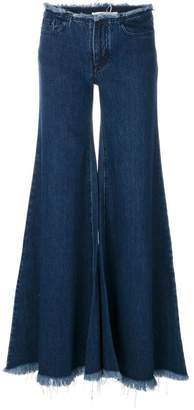 Marques Almeida Marques'Almeida flared wide-leg jeans