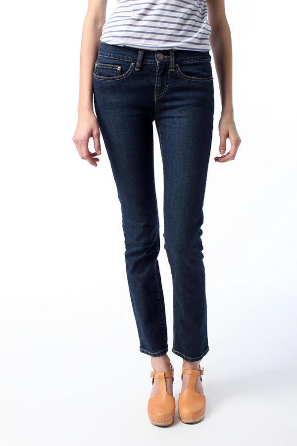 BDG Skinny Mid-Rise Jean - Dark Blue