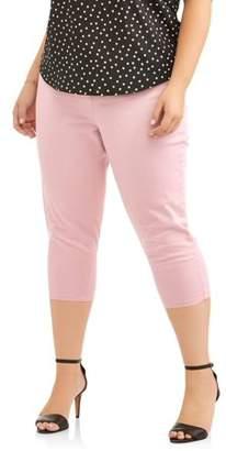 A3 Denim A3 Women's Plus Brushed Stretch Capri Pants