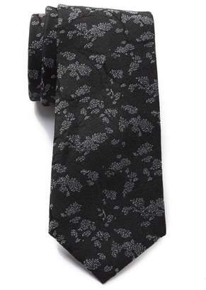 Calvin Klein Particle Branches Silk Tie