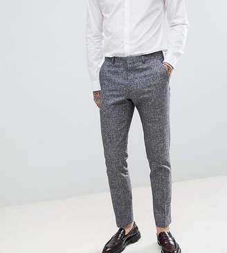 Heart & Dagger slim suit pants in linen texture