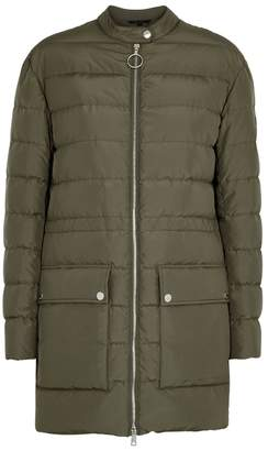 Belstaff Adwick Sage Quilted Shell Coat