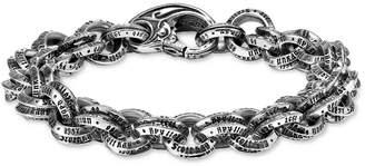 Scott Kay Men's Logo Link Bracelet in Sterling Silver