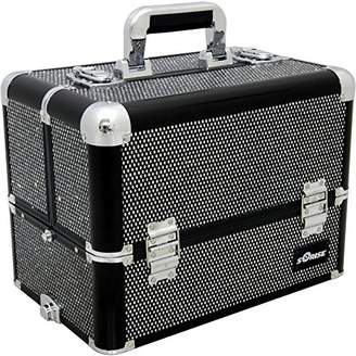 Sunrise E3304 Professional Makeup Artist Cosmetic Train Case Organizer Storage