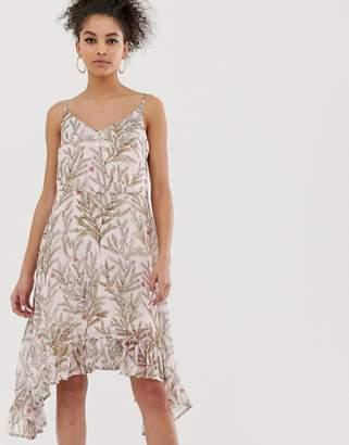 9a15fc29676 C By Cubic C by Cubic frill hem midi dress