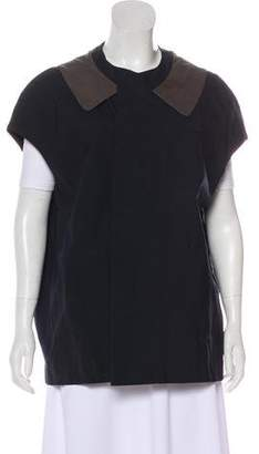 Marni Wool Cap-Sleeve Vest