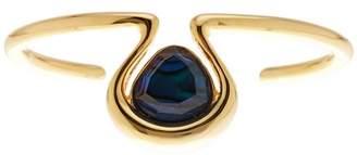 Trina Turk Genuine Semi-Precious Stone Open Cuff Bracelet