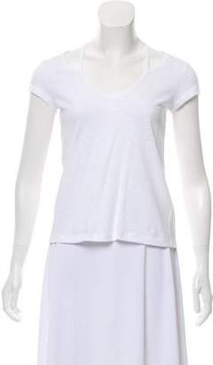 Rebecca Minkoff Short Sleeve V-Neck Top