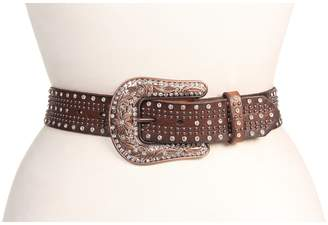 M&F Western Studded Belt w/ Bronze Buckle Women's Belts