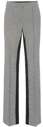 Schumacher Dorothee Minimal Vichy high-rise pants