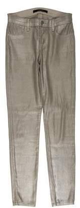 J Brand Super Skinny Mid-Rise Pants
