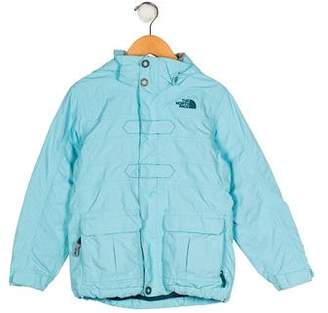 The North Face Girls' Zip-Up Hooded Jacket