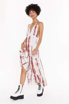bb521a73180b Nasty Gal Tie Dye Cheesecloth Layered Maxi Dress