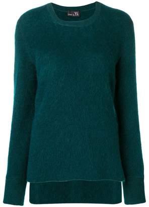 Y's round neck sweater
