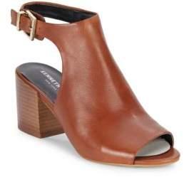 Val Leather Cutout Sandals $160 thestylecure.com