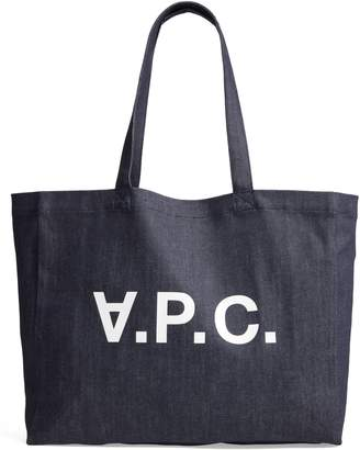 A.P.C. Daniela Denim Shopper