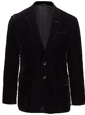 Giorgio Armani Men's Stretch Velvet Suit Jacket