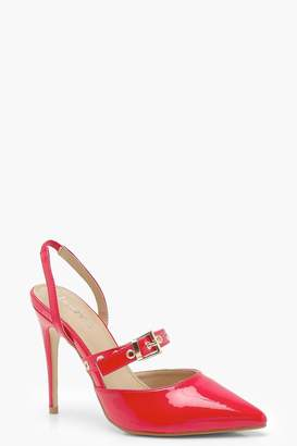 Outlet Amazon button pointed pumps - Red Rue St. Cheap Price Store Clearance Collections For Sale Online Cut-Price QNV7HM0K